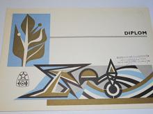 Svazarm - Svaz pro spolupráci s armádou -základní organizace n. p. Tatra Kopřivnice - diplom