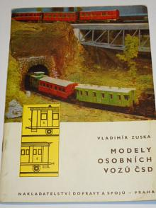 Modely osobních vozů ČSD - Vladimír Zuska - 1971