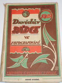Davidův rádce ve fotografování - 1930 - Ludvík David