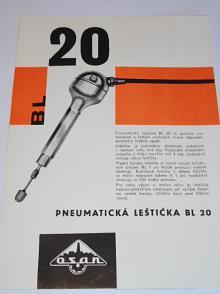 Pneumatická leštička BL 20 - OSAN - prospekt