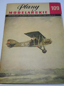 Samolot liniowy Potez XXV - plany modelarskie - 1982