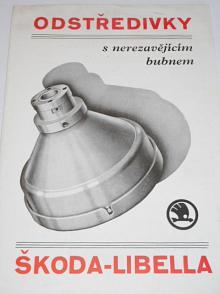 Odstředivky Škoda - Libella - 1934 - prospekt