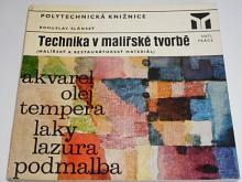 Technika v malířské tvorbě - malířský a restaurátorský materiál - Bohuslav Slánský - 1973