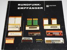 Unitra - Rundfunkempfänger - 1974 - katalog