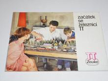 TT Zeuke - začátek se železnicí TT - prospekt - 1970