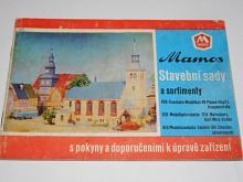 Mamos - stavební sady a sortimenty... s pokyny a doporučeními k úpravě zařízení - prospekt