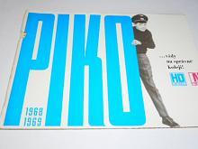 PIKO ... vždy na správné koleji - 1968 - 1969 - prospekt - modelová železnice