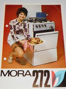 Plynový sporák Mora 272 - prospekt