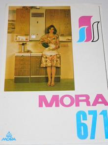 Plynový rychloohřívací kotel Mora 671 - prospekt