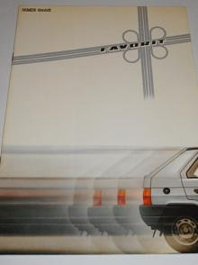 Škoda Favorit - prospekt - Semex GmbH