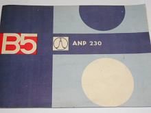 Tesla B 5 ANP 230 - návod k obsluze