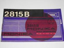 Tesla 2815 B Monika - návod na obsluhu prijímača