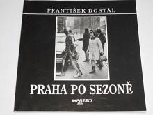 Praha po sezoně - František Dostál - 1995
