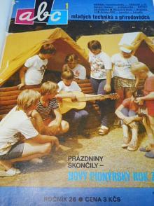 ABC mladých techniků a přírodovědců - 26. ročník - 1981 - 1982
