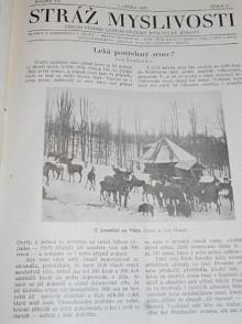Stráž myslivosti - 1929 - úřední věstník Československé myslivecké jednoty