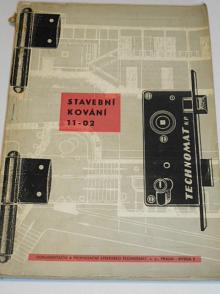 Stavební kování - Technomat - 1960