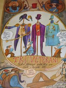 Tři veteráni - filmový plakát - Adolf Born - 1983