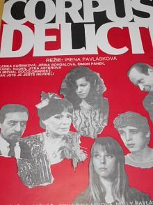 Corpus delicti - filmový plakát -1991
