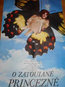 O zatoulané princezně - filmový plakát - 1988