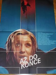 Až do konce - filmový plakát - 1984