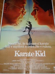 Karate Kid - filmový plakát - 1984