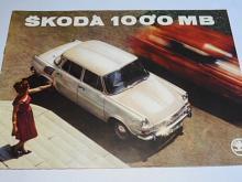 Škoda 1000 MB - Motokov - prospekt