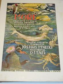 Moře - pravdivé vypsání mnoha příběhů ze života hmyzu, rostlin, ptáků ryb a zvířat - Jos. Hais Týnecký - 1925