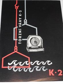 Torzní váhy K 2 typ Meopta 152 20 - 22 - prospekt - 1960