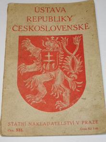 Ústava republiky Československé