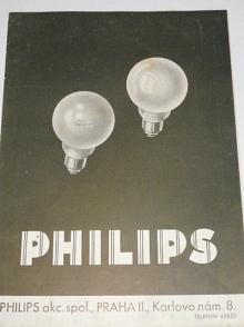 Philips - žárovky - prospekt - 1933
