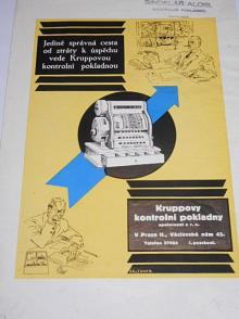 Vícepočítadlová páková pokladna Krupp - prospekt