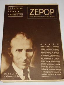 ZEPOP - Zprávy elektrických podniků obce Pražské - ročník XII., číslo 1 - 1937