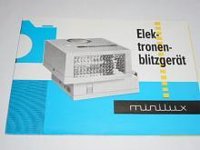 Minilux - Elektronenblitzgerät - prospekt - 1968