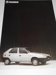 Škoda Favorit 136 L - prospekt - Automobilové závody, oborový podnik Mladá Boleslav - Motokov