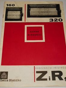 Metra Blansko - registrační přístroje ZiRg - návod k použití - obrazová část návodu