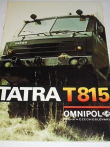 Tatra T 815 - prospekt - Omnipol