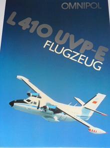 LET Kunovice - L 410 UVP-E Flugzeug - Omnipol - prospekt