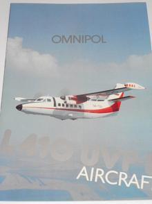 LET Kunovice - L 410 UVP-E Aircraft - prospekt - Omnipol