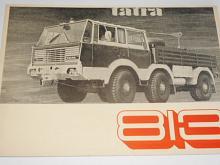 Tatra 813 - tahač - prospekt