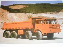 Tatra 813 S 1 8 x 8 - jednostranný sklápěč - prospekt