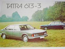 Tatra 613-3 - prospekt