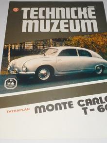 Tatra - Tatraplan Monte Carlo T- 601 - 1992 - prospekt - Technické muzeum