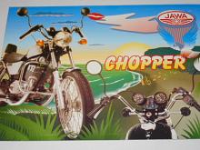 JAWA 350/639-2 chopper - prospekt