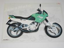 JAWA Moto - Jawa 50, 100, 125, 350, Robby, Dandy, Minarelli, Kreidler - prospekt