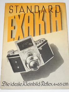 Ihagee - Standard-Exakta - prospekt - 1939