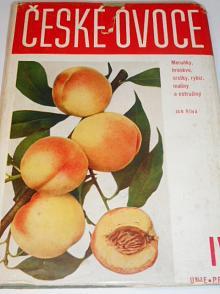 České ovoce - díl čtvrtý - meruňky, broskve, srstky, rybíz, maliny a ostružiny - Jan Říha - 1937