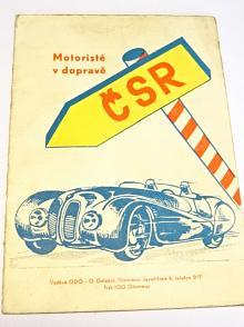 Motoristé v dopravě - dopravní značky - přehled nových rozeznávacích značek motorových vozidel