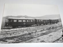 Tatra - motorový vůz M 120.210 - ČSD - fotografie