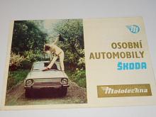Osobní automobily Škoda - Mototechna - prospekt - Škoda 110 R Coupé