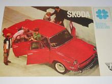 Škoda 1000 MB - prospekt - Mototechna